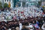 Sáng nay, lần đầu tiên 'Trung đoàn bất tử' Thế chiến II diễu hành ở Hà Nội kỷ niệm Ngày Chiến thắng