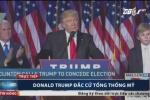 Video: Ông Donald Trump đắc cử tổng thống