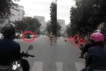 Đánh võng trước đoàn xe ưu tiên, người đàn ông bị cảnh sát giao thông truy đuổi