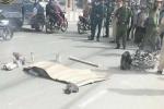 Dân phẫn nộ truy đuổi đến cùng tài xế xe ben tông chết nữ sinh rồi bỏ trốn