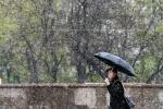 Tuyết bất ngờ rơi giữa mùa hè ở Matxcơva