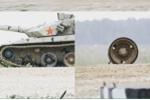 Xem xe tăng Trung Quốc rụng bánh khi đang đua ở Nga