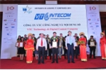 VTC Intecom nhận danh hiệu 50 Doanh nghiệp CNTT hàng đầu Việt Nam 2016