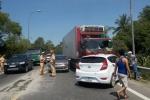Tai nạn liên hoàn trên quốc lộ 1A, 6 người la hét hoảng loạn kêu cứu