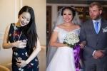 Hoa hậu Ngô Phương Lan sắp làm mẹ sau 3 năm kết hôn với ông xã ngoại quốc