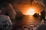 7 hành tinh của hệ mặt trời mới phát hiện có thể truyền sự sống cho nhau qua thiên thạch