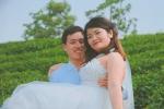 Ảnh cưới hài hước của cô dâu nặng hơn chú rể gần 20 kg