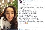 Kaity Nguyễn livestream chia sẻ 'bí quyết' online Facebook và Youtube 'ngon bổ rẻ'