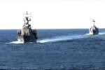 Cách cặp tàu tên lửa Việt Nam hợp luyện diệt mục tiêu