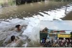 Hà Tĩnh: Hai em nhỏ đuối nước thương tâm