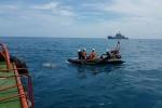 Chìm tàu Hải Thành trên biển Vũng Tàu: Khám nghiệm tàu Petrolimex 14