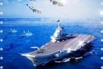 Trung Quốc ghép chiến cơ Nga, tàu Mỹ vào áp phích tuyên truyền