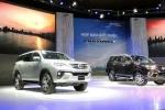 Toyota Fortuner thế hệ mới giá thấp nhất 981 triệu đồng