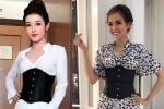 Huyền My, Diễm Hương đua nhau mặc corset 'ăn gian' vòng eo