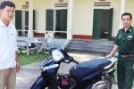 Mất xe SH ở Hà Nội, được bộ đội biên phòng tìm thấy ở Quảng Ninh