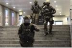 Cướp súng và tấn công cảnh sát tại ga tàu ở Đức