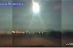 Clip: Thiên thạch cháy sáng tạo cầu lửa khổng lồ trên bầu trời Mỹ