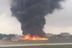 Thông tin mới nhất tai nạn máy bay khủng khiếp làm ít nhất 5 người chết ở Malta
