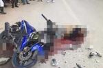 Hai phượt thủ gặp tai nạn thảm khốc trên đường về Hà Nội