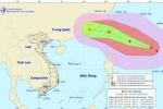 Xuất hiện cơn bão mạnh cấp 14 trên Biển Đông