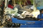 Xe khách đâm đuôi xe tải, 9 người bị thương