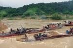 Bắt giữ 6 tàu hút cát trái phép quy mô lớn tại Quảng Ninh
