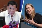 Tổng thống Philippines đáp trả ái nữ nhà Clinton sau phát ngôn gây tranh cãi