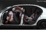 Cận cảnh tai nạn khủng khiếp vì không thắt dây an toàn trên ôtô
