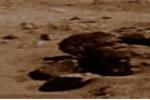 Sửng sốt phát hiện vật như tượng Phật trên sao Hỏa