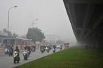 Sương mù bao phủ Hà Nội, nhiệt độ miền Bắc tiếp tục tăng
