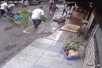 Video: Đang đi bộ, nữ MC bị cây cọ đè chết