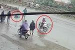 Sau tai nạn, cô gái thản nhiên phóng xe đi, bỏ nạn nhân bất tỉnh trên đường mưa