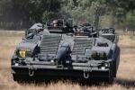 Cận cảnh xe tăng không tháp pháo duy nhất trên thế giới của Thụy Điển