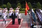 Ảnh: Lễ đón Tổng thống Philippines Rodrigo Duterte