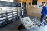 Pháp bắt đầu cung cấp hàu tươi từ máy bán hàng tự động