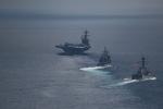 Hành trình kỳ lạ của nhóm tàu sân bay Mỹ điều đến Triều Tiên