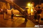 Cầu vượt thép rạn nứt nham nhở: Thi công xuyên đêm sau chỉ đạo của Chủ tịch Hà Nội