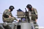 Chiến sỹ Lữ đoàn pháo binh 45 khoe kỹ năng sử dụng dàn vũ khí hiện đại