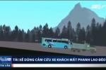 Xe tải cứu xe khách mất phanh lao đèo thế nào?
