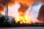Nhà máy hóa dầu phát nổ ở Trung Quốc