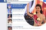 Hàng loạt facebook mạo danh tân Hoa hậu Đỗ Mỹ Linh