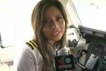 Rơi máy bay Colombia: Nữ phi công kiêm người mẫu xinh đẹp tử nạn ngay lần đầu làm cơ phó