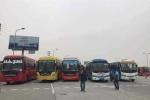 Cảnh sát giao thông chặn 70 xe khách kéo lên Hà Nội phản đối phân tuyến