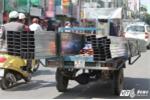 CSGT tiếp tục truy quét xe 'máy chém' giả danh thương binh lộng hành ở Hà Nội