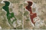 'Hồ máu' đột ngột xuất hiện ở Iran