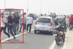 Công an xin lỗi phóng viên bị đánh chảy máu mồm trên cầu Nhật Tân