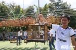 Thi chim ủng hộ trẻ em tàn tật ở chùa Bửu Thắng