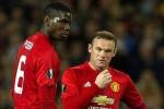 Rooney nhường Pogba, Martial đá phạt đền: Bản lĩnh người đội trưởng