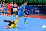 Màn ăn mừng y hệt Ronaldo của cầu thủ futsal Việt - Ảnh 1