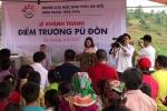 Thôn nghèo ở Hà Giang khánh thành điểm trường mới